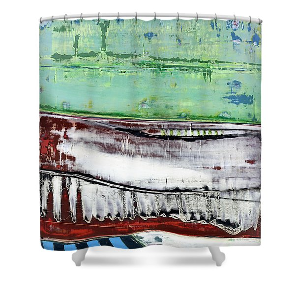 Art Print Abstract 97 Shower Curtain