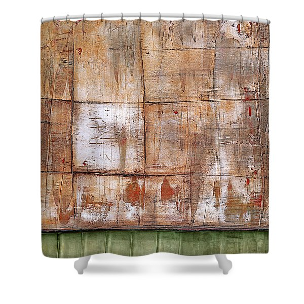 Art Print Abstract 35 Shower Curtain