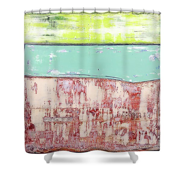 Art Print Abstract 19 Shower Curtain
