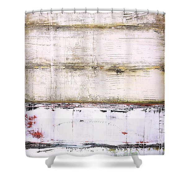 Art Print Abstract 25 Shower Curtain