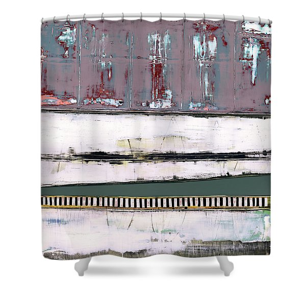 Art Print Abstract 86 Shower Curtain