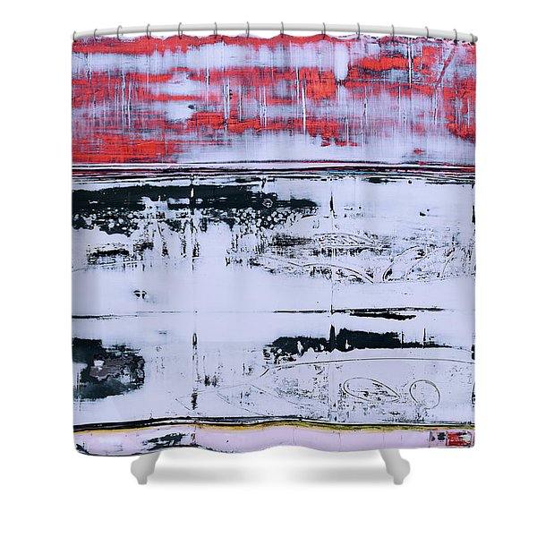 Art Print Abstract 99 Shower Curtain