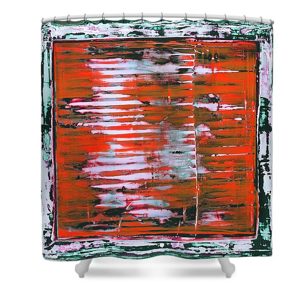 Art Print California 11 Shower Curtain