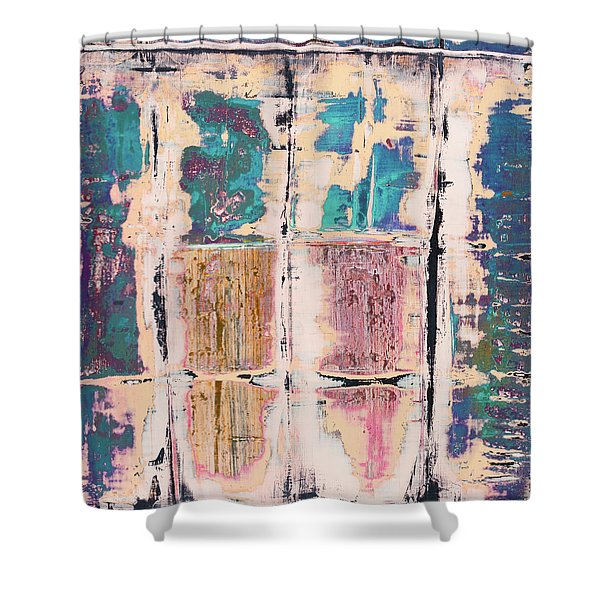 Art Print Square 8 Shower Curtain
