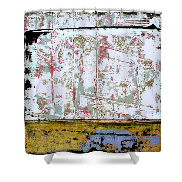 Art Print Square 9 Shower Curtain