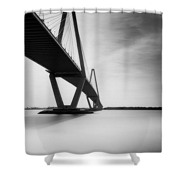 Arthur Ravenel Jr Bridge II Shower Curtain