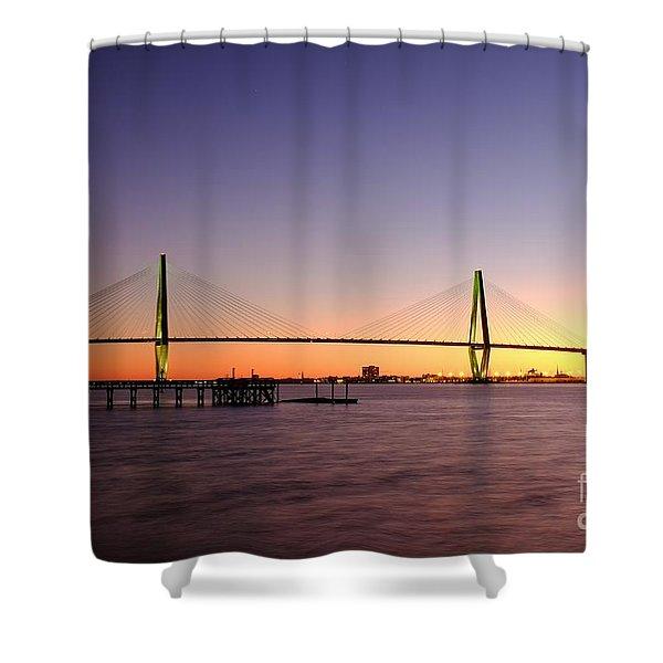 Arthur Ravenel Jr. Bridge Shower Curtain