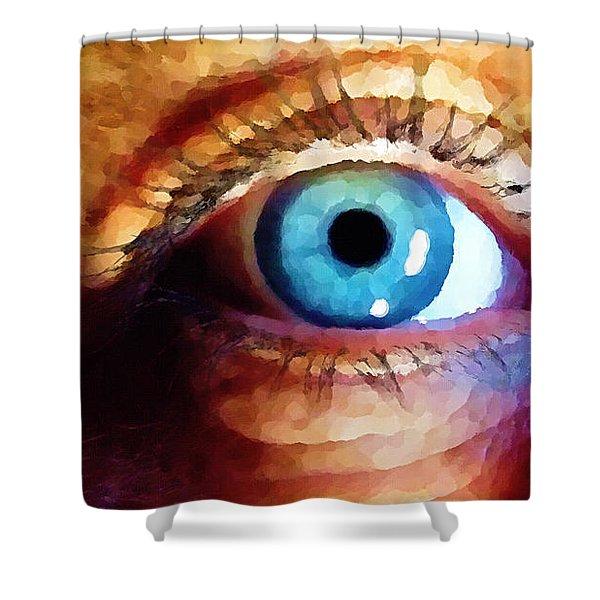 Artist Eye View Shower Curtain