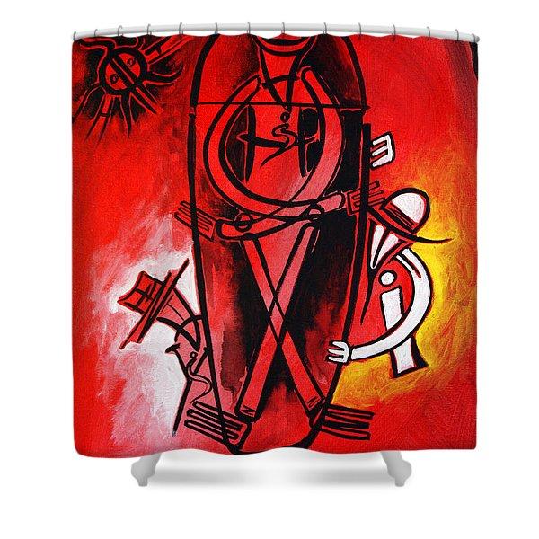 Artist Singh-74 Shower Curtain