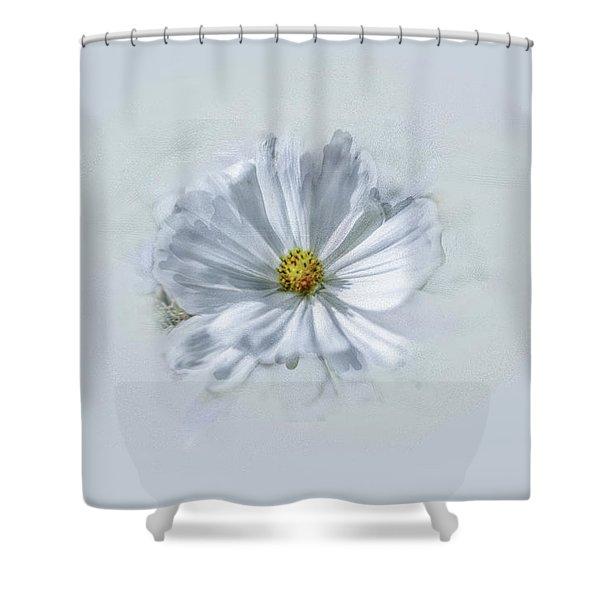 Artistic White #g1 Shower Curtain