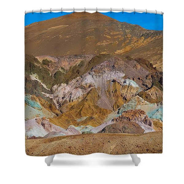 Artists Palette At Death Valley Shower Curtain