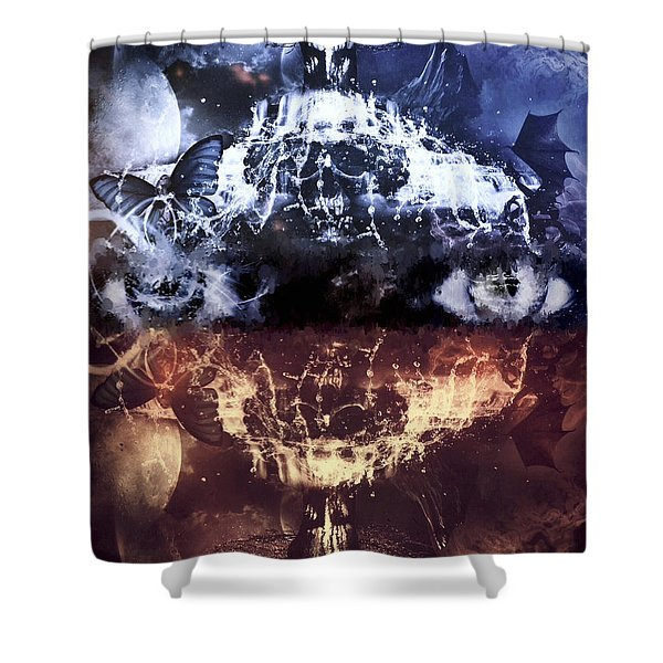 Artist's Vision Shower Curtain