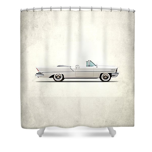 Lincoln Premiere 1957 Shower Curtain