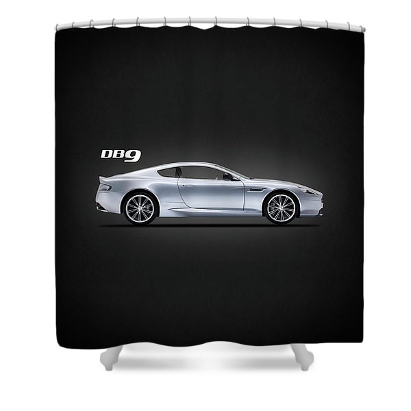 The Db9 Shower Curtain