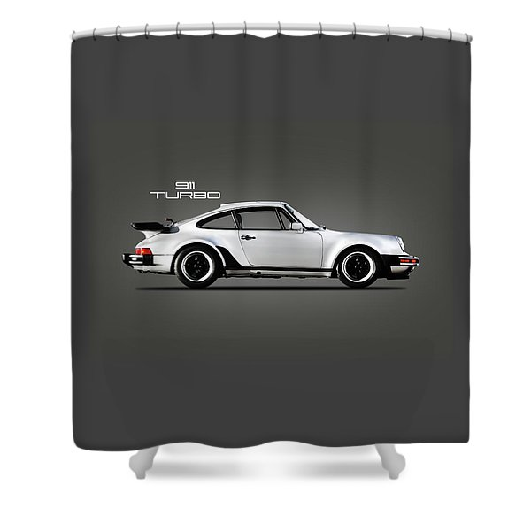 The 911 Turbo 1984 Shower Curtain