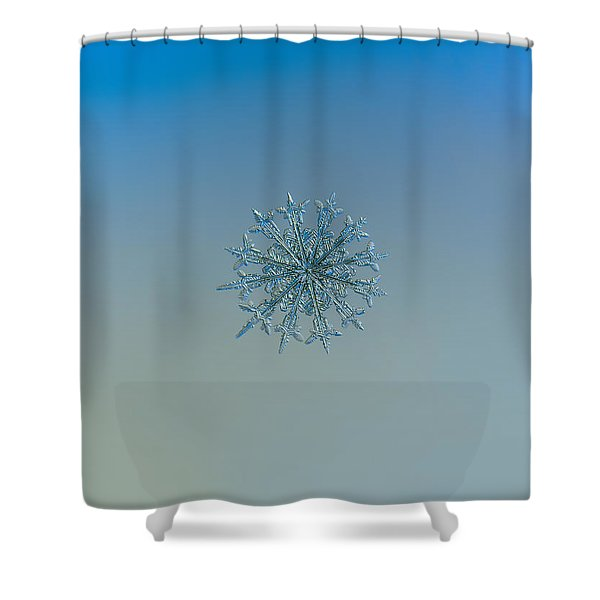 Snowflake Photo - Twelve Months Shower Curtain