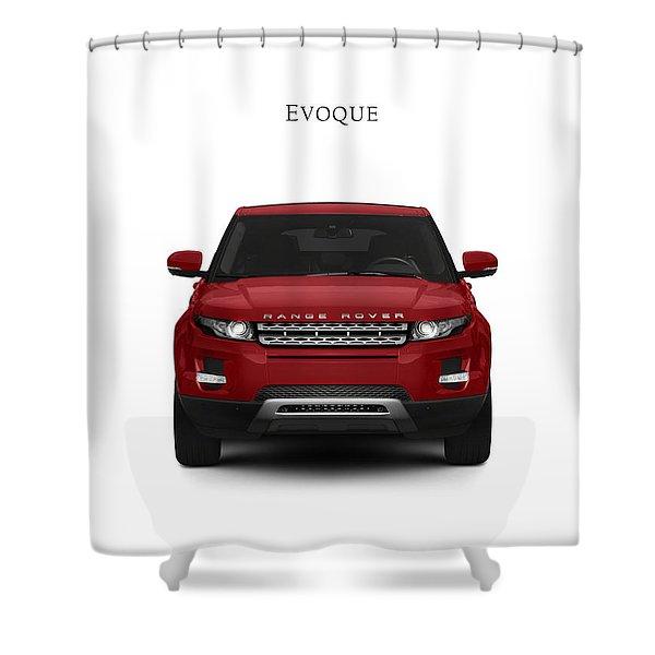 Range Rover Evoque Shower Curtain
