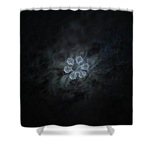 Icy Jewel Shower Curtain