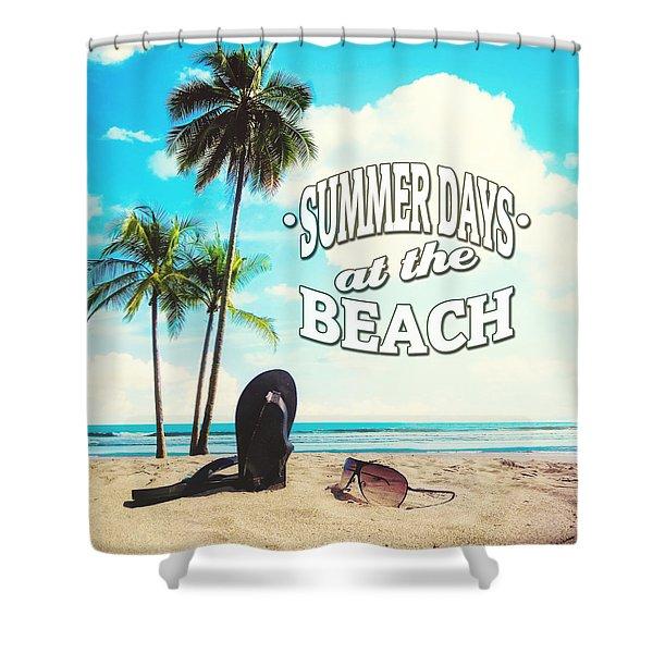 Summer Days Shower Curtain