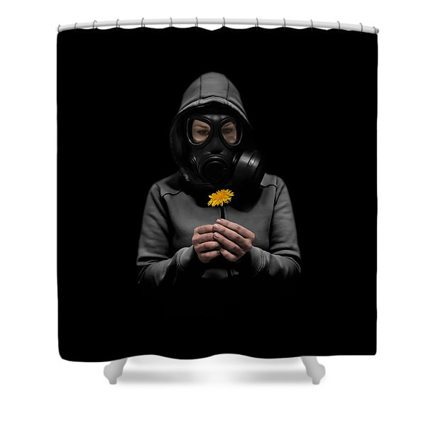 Toxic Hope Shower Curtain