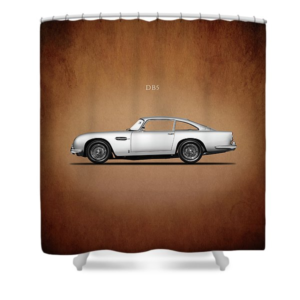 The Aston Martin Db5 Shower Curtain