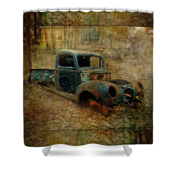 Resurrection Vintage Truck Shower Curtain