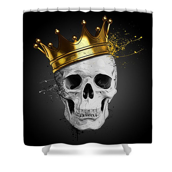 Royal Skull Shower Curtain