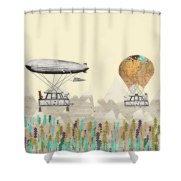 Adventure Days 3 Shower Curtain