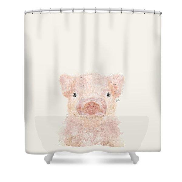 Little Pig Shower Curtain