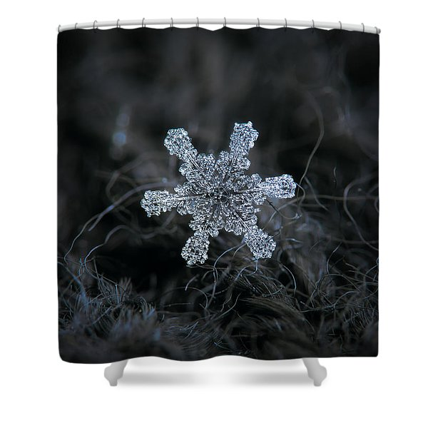 December 18 2015 - Snowflake 1 Shower Curtain
