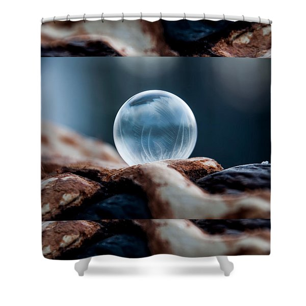 Wooden Hills Shower Curtain
