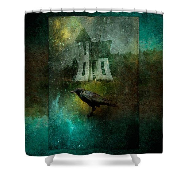 Crow House Shower Curtain