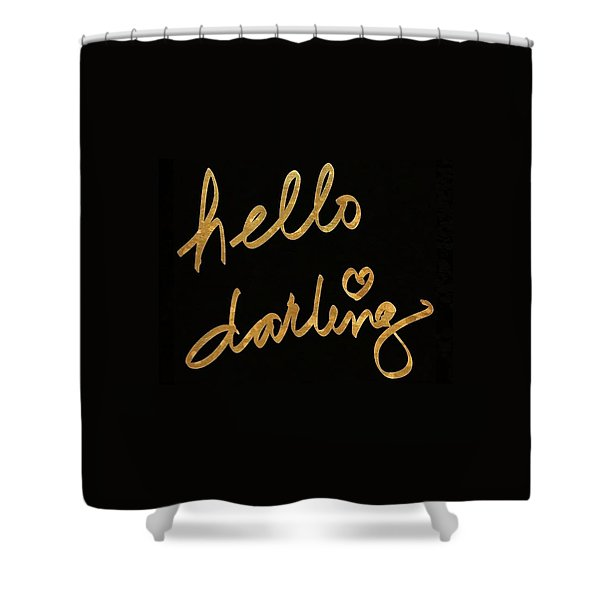 Darling Bella I Shower Curtain