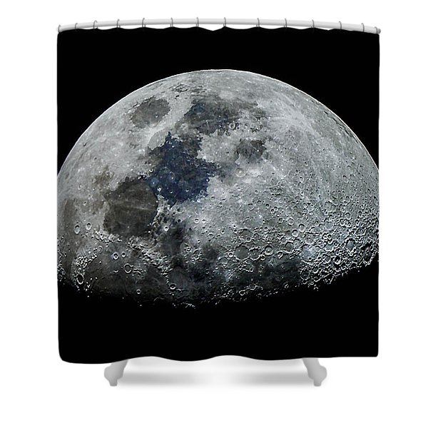 Color Moon Shower Curtain