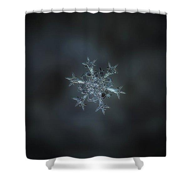 Snowflake Photo - Starlight II Shower Curtain