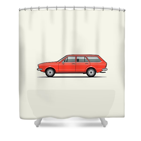 Volkswagen Dasher Wagon / Vw Passat B1 Variant Shower Curtain