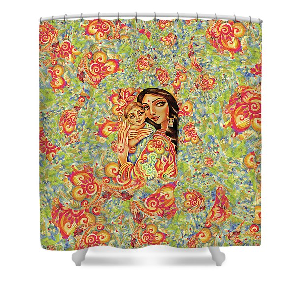 Goddess Blessing Shower Curtain
