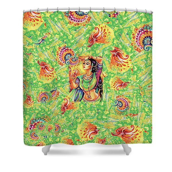 The Dance Of Tara Shower Curtain
