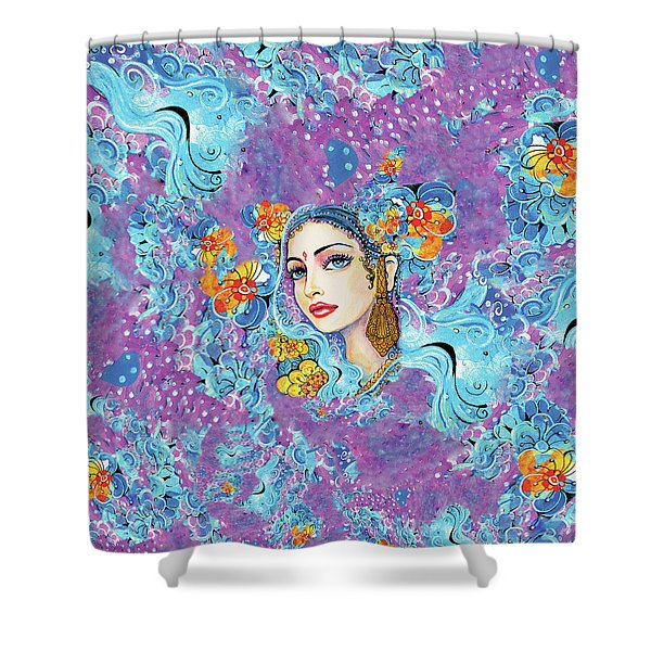 The Veil Of Aish Shower Curtain