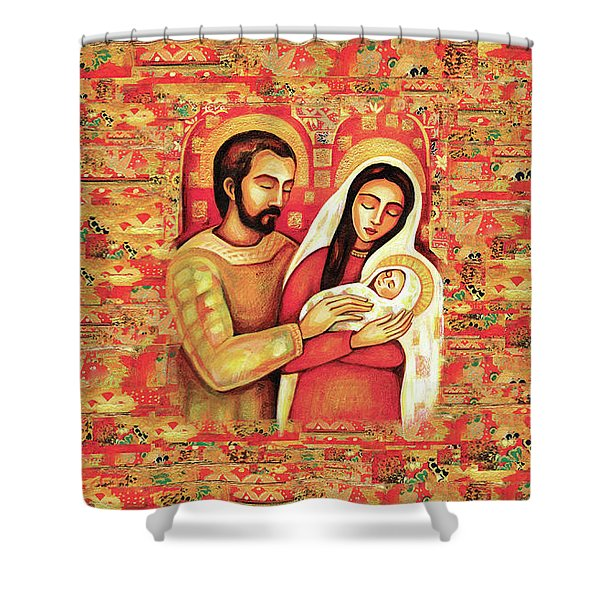 Holy Family Shower Curtain