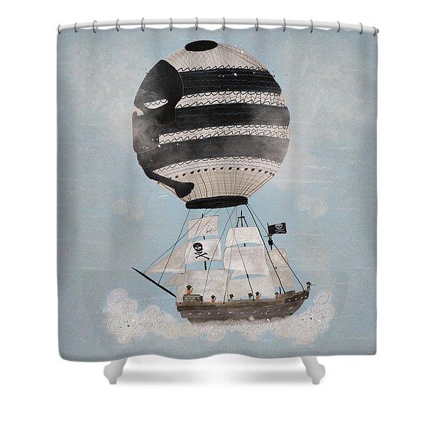 Sky Pirates Shower Curtain