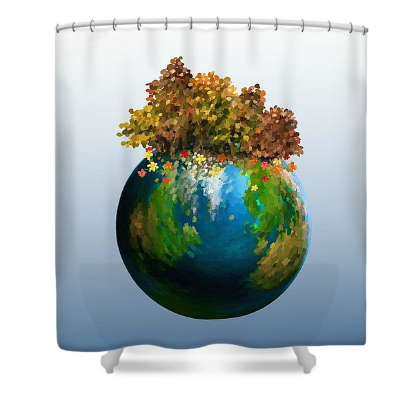 There Is Only One Shower Curtain