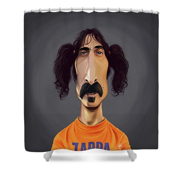 Celebrity Sunday - Frank Zappa Shower Curtain