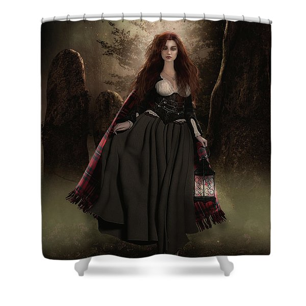 Standing Stones Shower Curtain