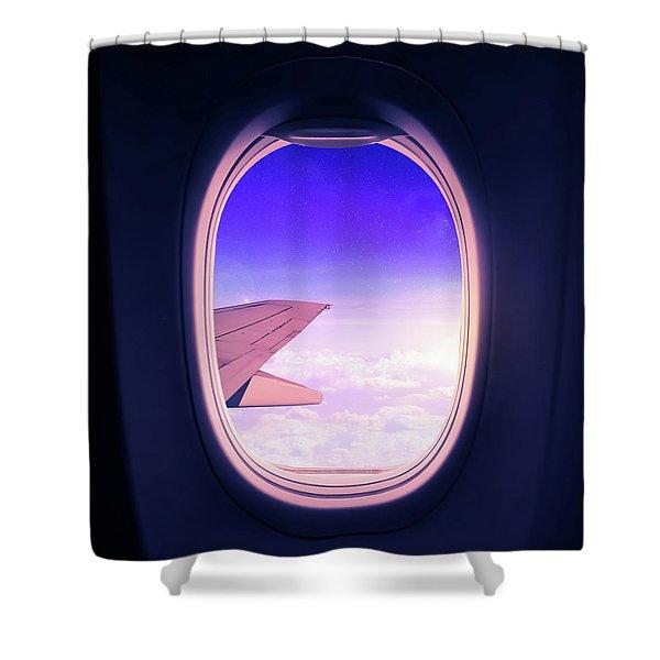 Travel The World Shower Curtain