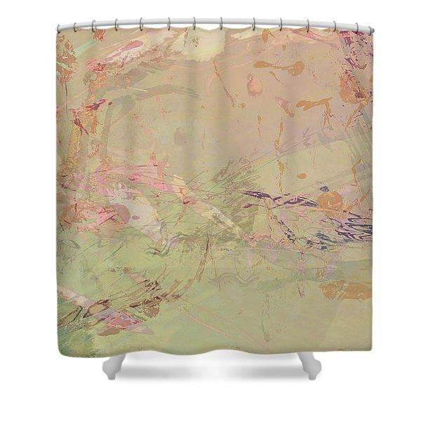 Wabi Sabi Ikebana Romantic Fall Shower Curtain