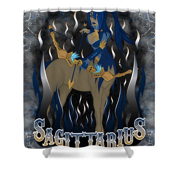 The Archer Sagittarius Spirit Shower Curtain
