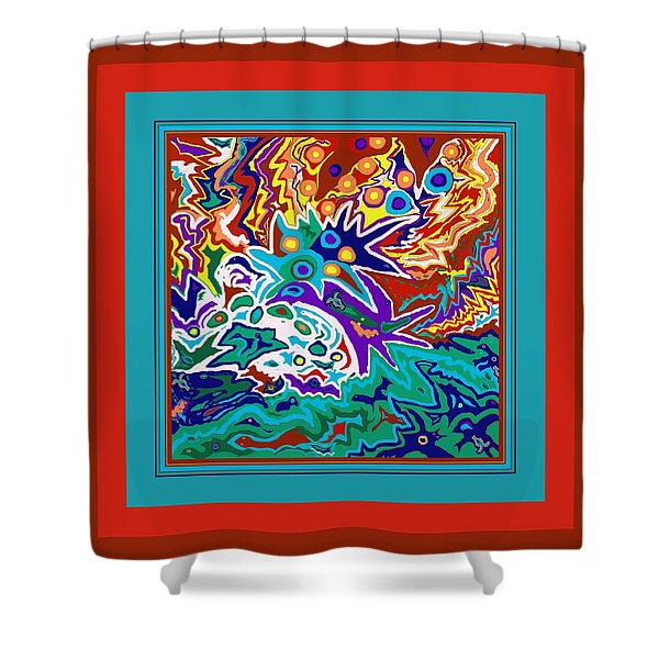 Life Ignition Shower Curtain