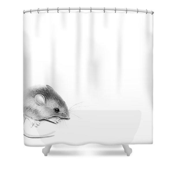 Itty Bitty Mouse Shower Curtain