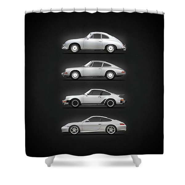 Evolution Of The 911 Shower Curtain